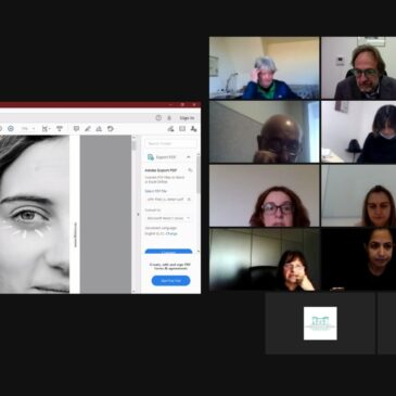 Online meeting of the partner organizations